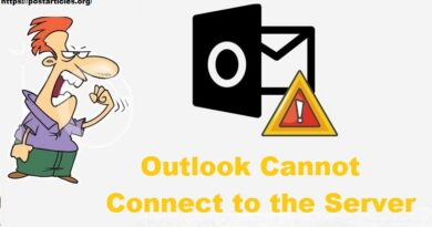 Outlook Cannot Connect to the Server