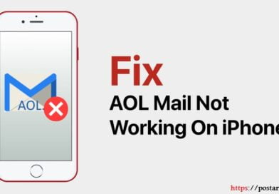 aol mail not working on iphone